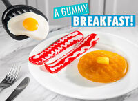 Gummy Breakfast Gummy shaped like a morning meal Realistic Party Candy Gift