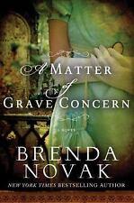 A Matter of Grave Concern, Novak, Brenda, Good Condition, Book