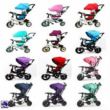 4 In 1 Kids Toddler Pram Stroller Reverse Trike Ride On Toy GMC001/2/4/BCT0261