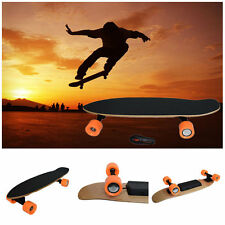 New 7 Inch Remote Control Four Wheels Electric Skateboard Longboard Skate Board