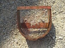 Massey Harris Pony tractor MH rear PTO pulley cover guard panel shield