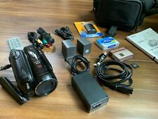 Canon Vixia Hv40 Mini Dv Hd Camcorder Hdv 1080i w Extra Batteries & Accessories!