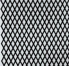 Black Mesh Build Restoration Texture Foil Long Ornament Dresden Paper Germany