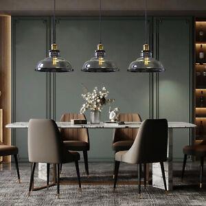Nordic Glass Pendant Light Aluminium Theme Restaurant Coffee Kitchen Lamp E27