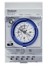 Theben Zeitschaltuhr SYN161d analog Schaltuhr Uhr 96 Schaltsegmente 1610011