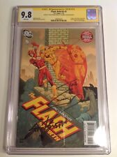 CGC SS 9.8 Flash: Rebirth #5 signed by Grant Gustin & Tom Cavanagh Reverse