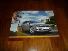 Opel Astra Prospekt 11/2007
