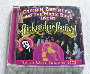 CAPTAIN BEEFHEART & THE MAGIC BAND LIVE BICKERSHAW FESTIVAL CD NR MINT COND.