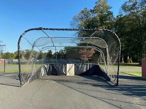 Pro/College Baseball or Softball Batting Cage Portable Backstop Same as MLB