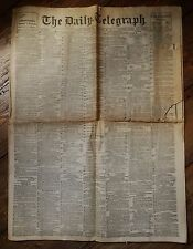 Daily Telegraph, February 22nd 1911 (Vintage Complete Original Newspaper)