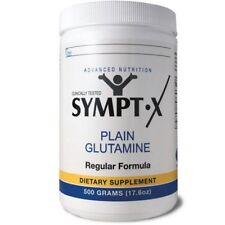SYMPT-X 500g Jar x 2 + 15g x 20 packets- Pharmaceutical Grade Glutamine
