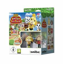Animal Crossing Amiibo Festival Bundle Nintendo Wii U New AU Seller