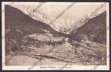 BRESCIA VEZZA D'OGLIO 20 VAL PAGHERA Cartolina VIAGGIATA 1931