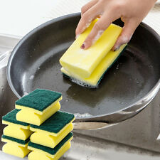 5Pcs Washing Sided Cleaning Dish Kitchen Tools Wipe Brush Sponge Scouring Gadget