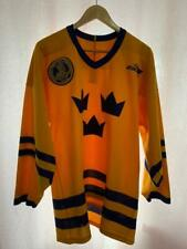 SWEDEN NATIONAL TEAM ICE HOCKEY SHIRT JERSEY BAUER SIZE M