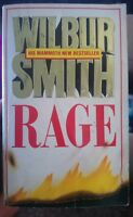 Rage by WILBUR SMITH - 1988, Paperback