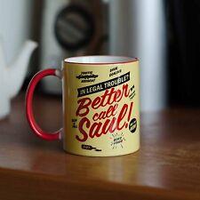 Better Call Saul Mug Cup Breaking Bad Heisenberg Meth Law Tea Coffee Drink Gift