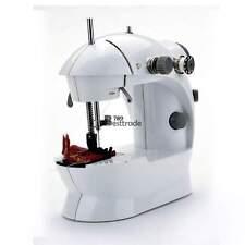 White Portable samll mini Handheld Electric Sewing Machine 2-Speed Household