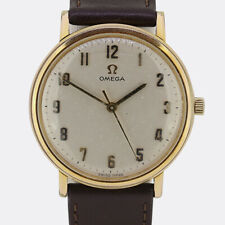 Vintage Omega Manual Gents Watch Gold Plated/Stainless Steel