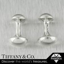 Silver Bone Nugget Cuff Links Rare Tiffany & Co 925 Sterling