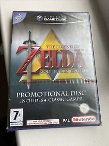 NEW The Legend of Zelda - Collector's Edition (GameCube, 2003) purple case