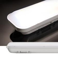 60CM Réglette LED 12W Plafonnier Etanche IP65 Blanc Neutre Tube Spot en PC Mat