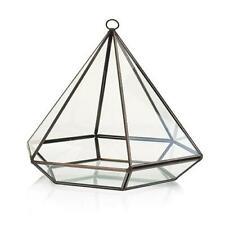 Glass Terrarium - Large Diamond - Plants - Decoration