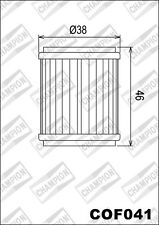 COF041 Filtro De Aceite CHAMPION Fantic125 Caballero R Enduro LC1252011 12