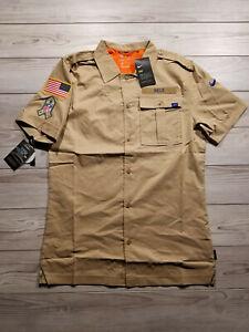 Nike Buffalo Bills 2019 Salute to Service Button-Up Shirt AT6763-297 Men's S NWT