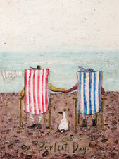 Sam Toft - Perfect Day - Ready Framed Canvas 30x40cm