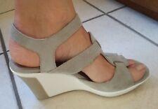 sandali Alberto Guardiani donna con zeppa originale n.39 grigio