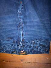 Superdry jeans mens biker fit blue jeans 32 x 32