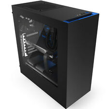 NZXT Source S340 Mid-tower Case - Black/blue