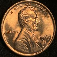 1969-S LINCOLN CENT DOUBLE DIE OBVERSE * VERY RARE * SCARCE MS GEM ** 69 S DDO *