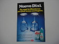 advertising Pubblicità 1977 DIXI HENKEL