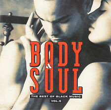 BODY & SOUL - THE BEST OF BLACK MUSIC - VOL. 5 / 2 CD-SET - TOP-ZUSTAND