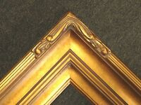 "5"" WIDE Gold Leaf Ornate photo Oil Painting Gallery Picture Frames4art 607G"