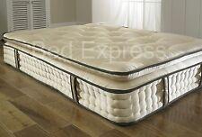5ft King Size 2000 Pocket Spring Orthopaedic Organic Pillow Top Mattress