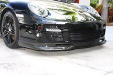 Porsche 911 997 Turbo GTR II Carbon Fiber Front Bumper Lip Spoiler..New!