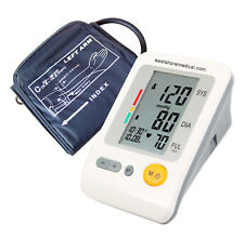 Digital arm blood pressure monitor Large LCD+features (Memory , WHO indicator)