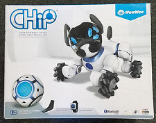 WOWWEE CHIP INTERACTIVE ROBOT TOY DOG - WHITE - NEW OPENED BOX