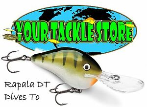 Rapala DT10 Dives To Pick Color & Qty NIP Factory Direct