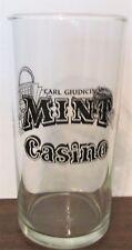 """CARL GIUDICI'S MINT CASINO, DOWNTOWN RENO, NEVADA 4 3/4"""" GLASS"""