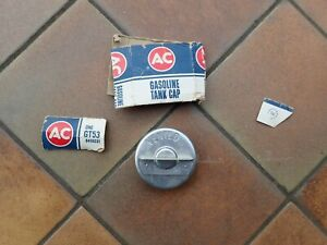 1959-72 GM AC GT-53 vented gas cap, NOS! Chevy Cadillac, Oldsmobile