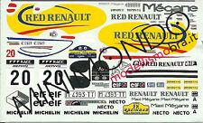 DECALS RENAULT MEGANE MAXI RALLY CATALUNYA 1996 GOMEZ 1/43 RACING43 RACING 43