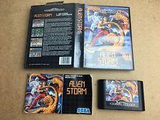 Alien Storm-Sega Mega Drive (probado/trabajo) UK PAL