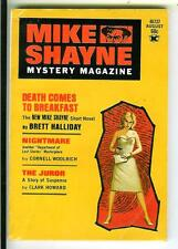 MIKE SHAYNE MYSTERY MAG 8/71 US crime sleaze gga digest mag Woolrich, Alter