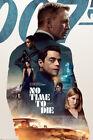 "No Time To Die - Movie Poster (James Bond - Regular Style / Key Art (24"" x 36"")"