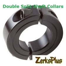 Metric Double Split 5mm Shaft Collar  M20 x 5 x 9