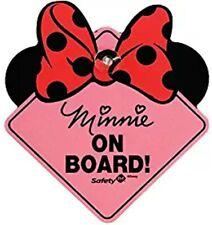 Disney Baby - Minnie on Board Sign. Pink. Safety 1st sign alternate.